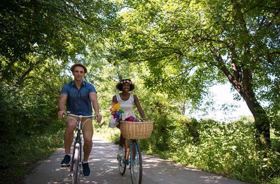 Radtour zum Boberger See
