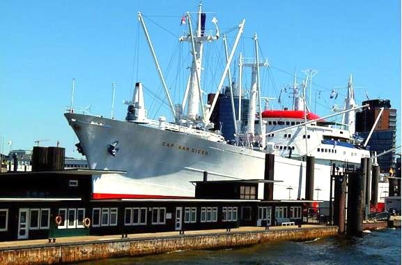 Museumsschiff Cap San Diego erkunden