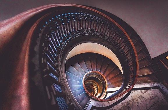 #Schönste Treppenhäuser