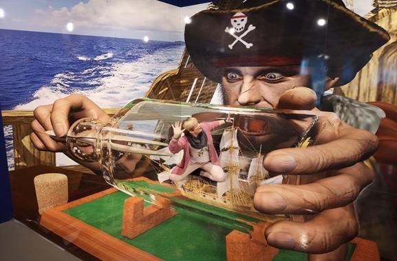 3D-Trickart-Museum besuchen